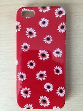 Red flower case iPhone 5