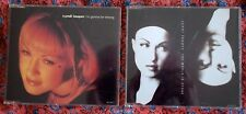 Cyndi Lauper 2 x CD Singles - The World Is Stone and I'm Gonna Be Strong