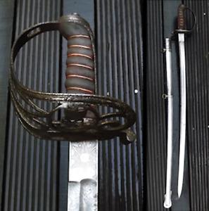 VERY RARE AND NICE BRITISH OFFICER SWORD, VICTORIA QUEEN, XIX, ORIGINAL