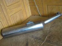 Honda CBR1100 CBR 1100 Blackbird RHS Standard Exhaust Can Silencer HM MAT E2