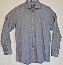 Hugo Boss Small Stripes Mens Long Sleeve Shirt Size Medium