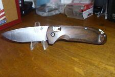 Benchmade 15031, AXIS Lock Design, U.S. Patent No. RE41,259