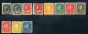 Canada #74/171 mint F/VF OG NH//DG 1897/1930 Early Canada mint selection