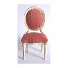 CREAL 31181 silla Luis XVI blanco/rosa 1:12 para casa de muñecas nuevo! #