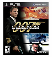 007 Legends (Sony PlayStation 3, 2012) NEW