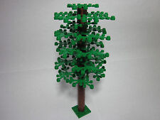 LEGO custom tree with tall trunk & 25 green leaves, FREE shipping!