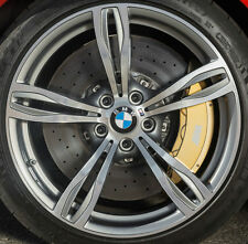 "BMW F10 M5 OEM Genuine Style 343 20"" M5 M Double Spoke Forged Wheels Silver"