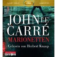 """JOHN LE CARRE: MARIONETTEN (GELESEN VON HERBERT KNAUP)"""" (MP3) CD-ROM HÖRBUCH NEU"""