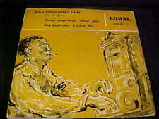 """PINE TOP SMITH Authentic Boogie Woogie Piano BLUES 7""""EP 1956 Coral Germany w/PS"""