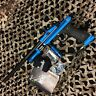 NEW Azodin KPC Pump Tournament Paintball Gun Marker - Blue/Black