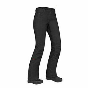 NWT Can-am Spyder BRP Womens Riding Pants S 6 water repellant black denim DC