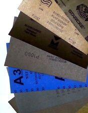 Sandpaper Wet Dry (5.5x9, 8pcs)- 2 sheets Each 2000,2500,3000,5000 Grit