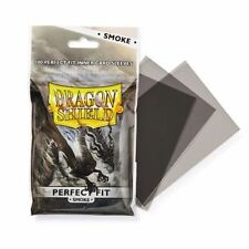 Dragon Shield 100 - Perfect Fit Deck Protector Sleeves - Smoke - AT-13023