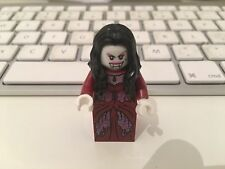 Lego vampire bride minifigure with glow in the dark head