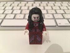 Lego vampire bride minifigure with glow in the dark head