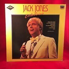 JACK JONES Entertains 1989 UK Vinyl LP EXCELLENT CONDITION best of greatest hits