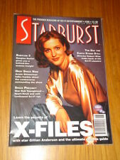 STARBURST #206 BRITISH SCI-FI MONTHLY MAGAZINE OCTOBER 1995 X-FILES