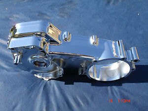 Harley 07-16 Chrome Inner Primary Road Glide FLTR Touring 60739-07 FLHR