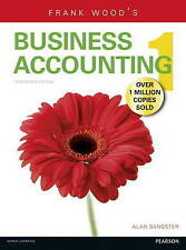 Business Accounting: WITH MyLab Vol 1, Wood, Frank, Sangster, Alan, Good, Paperb