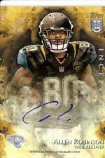 allen robinson rookie rc draft auto autograph jaguars penn state psu 2014