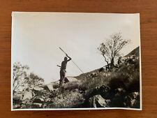 Vintage Real Photograph Australian Aboriginal 1930s Luritja-Papunya Mt Liebig