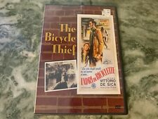 The Bicycle Thief-Image Dvd Usa Region 1- Vittorio De Sica Nm w/ Insert Sheet