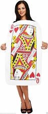 Ladies Womens Adults Alice Playing Queen of Hearts Costume Fancy dress Book Week