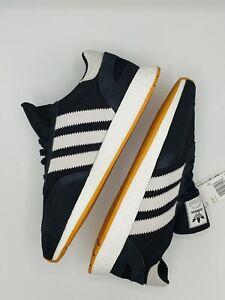 Adidas Originals I-5923 Iniki Runner Mens D97213 Black White Gum Size 14