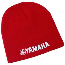 Yamaha Basic Beanie in Red - One Size - Brand New