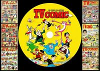 TV Comic - Comics + Annuals + Specials On PC DVD Rom (CBR FORMAT)