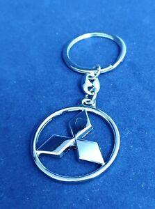 Mitsubishi 3 diamonds Stainless Steel Key Ring UK shop Great Gift Idea