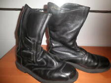 HELD BOTAS MOTORISTA PIEL CAÑA MEDIA MADE IN GE CUERO TRATADO AJUSTABLES 41