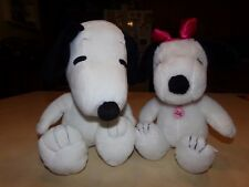 Snoopy and Belle Plush