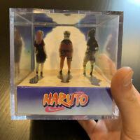Naruto Handmade 3D Cube Diorama Team 7 - Anime - Manga - Fanart