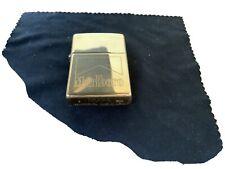 Zippo Lighter! Malboro Brass engraved. 1997.new Never Been Used.free Post U.K.