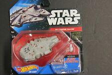 Star Wars Hot wheels Diecast Millennium Falcon Flight Navigator Stand Han Solo