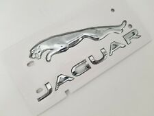 CHROME FOR JAGUAR NAMEPLATE rear Trunk Emblem Badge WORD LETTER XF XJL XE XK XFR
