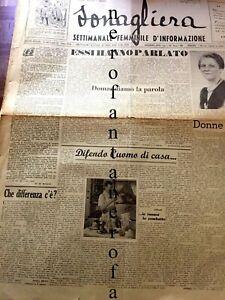 Sonagliera-settimanale femminile informazi A.I.n.1.Jo di Benigno 1948-Femminismo