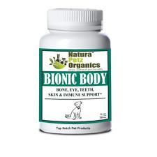Natura Petz BIONIC BODY - BONE, TEETH, EYE & SKIN SUPPORT All Life Stages 90 Cap