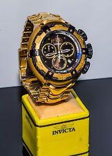 Invicta Reserve 52mm Mens Thunderbolt Quartz Chronograph SS Bracelet Watch 21346
