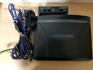 Alpine SWE-1200 Amplified Car Powered Subwoofer