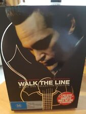 Walk The Line 3 Discs*Excellent Cond*R4*Inc Soundtrack ,Booklet and Pictures