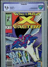 X-Factor #24 1988 Marvel Comics CBCS Graded 9.6 NM+  1st Archangel
