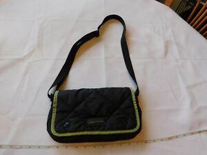 Polo Sport by Ralph Lauren crossbody purse Shoulder Bag Travel Black Green