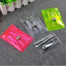 Mini 5Pcs/set Manicure Tool Kits Nails Clippers&Trimmers/Pedicure Scissor EW