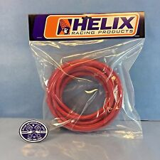 "NEW HELIX RED FUEL LINE HOSE 1/4"" PRE-CUT TO 25 FT KAWASAKI HONDA SUZUKI KTM"