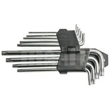 1x 9-tlg Torx Imbusschlüssel Set Schlüssel Satz Innen Kugelkopf T15-T55mm