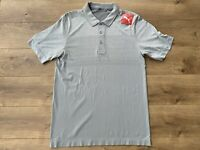 2019 PUMA Evoknit Ombre Golf Polo Quarry Gray SZ M ( 595106 02 ) NWT!