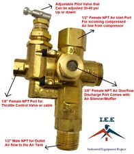 GAS AIR COMPRESSOR UNLOADER CHECK VALVE COMBO 145 - 175