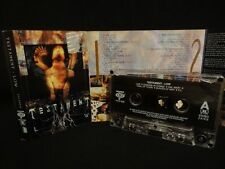 TESTAMENT Low / 1994 / MC CASSETTE ( EX ) MEGADETH, SLAYER, PANTERA, OVERKILL